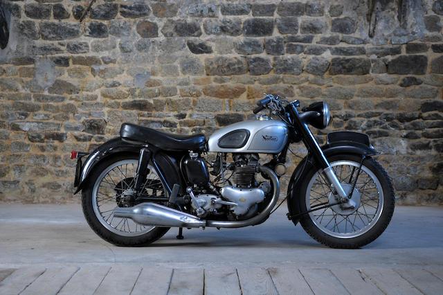 c.1953 Norton 500cc Model 7 Dominator Frame no. 48480 Engine no. 48480 (see text)
