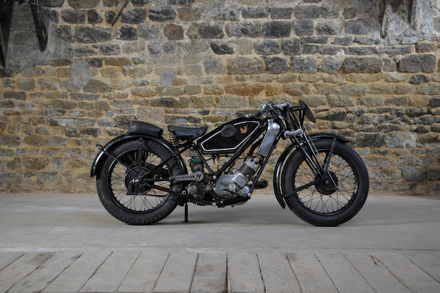 c.1925 Scott 500cc Coursifiée Frame No. 3842M Engine No. LFZ4001
