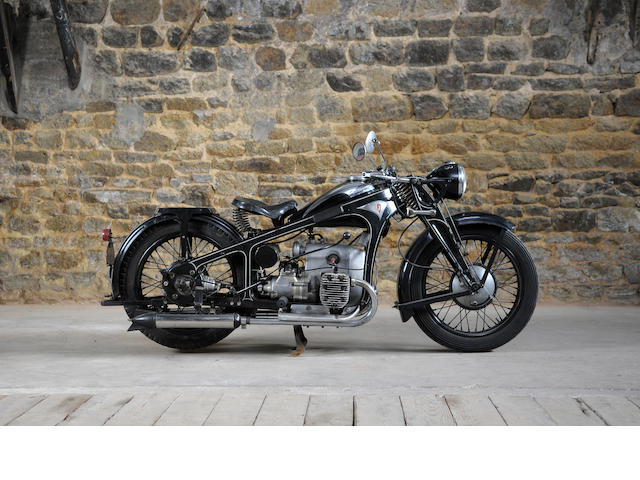 1937 Zundapp 500cc K500 Flat-Twin Frame No. 169354 Engine No. 169354