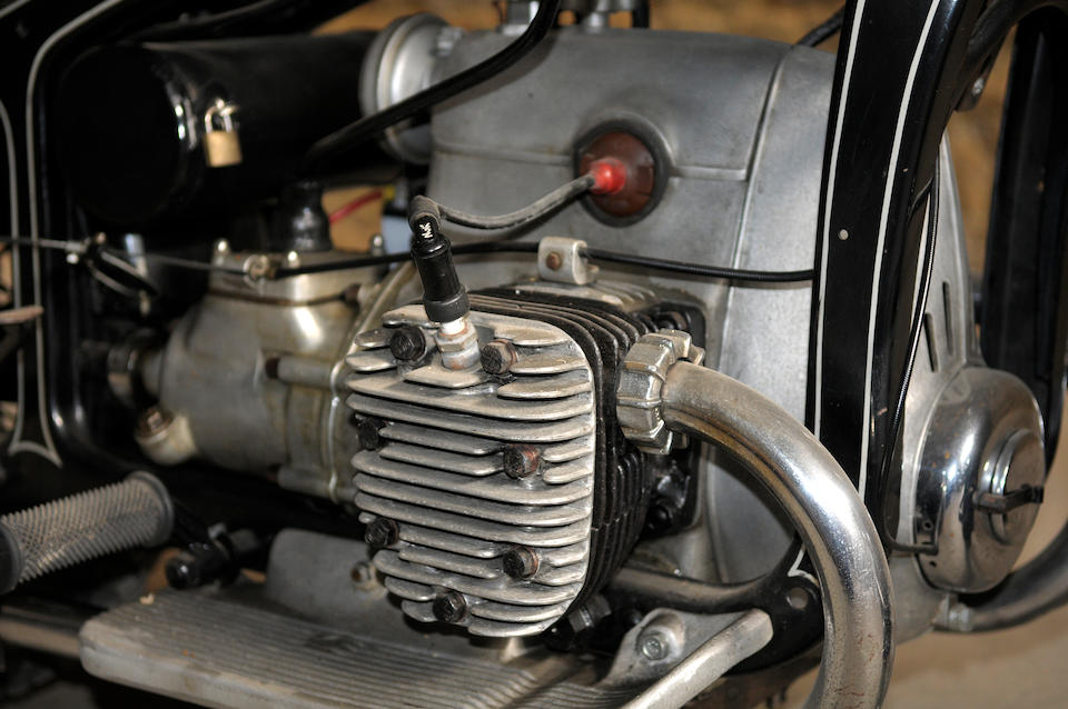1937 Zündapp K500 Frame no. 169354 Engine no. 169354
