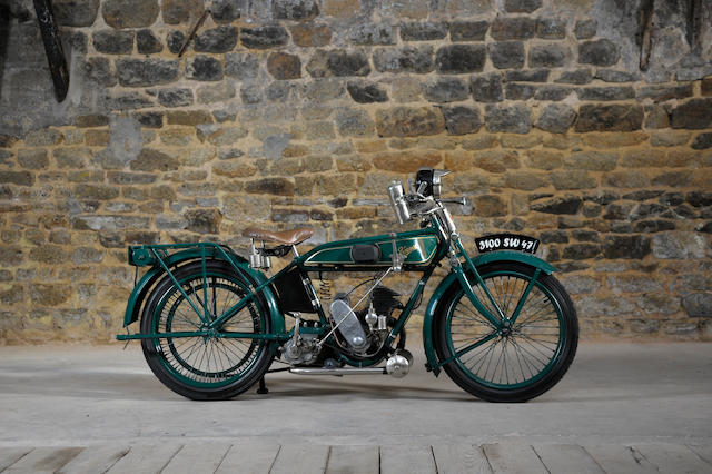 1928 Terrot 250cc FT Frame no. 68273