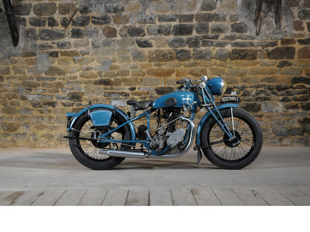 1946 Peugeot 350cc P135 Engine no. 201185