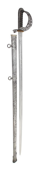 An 1821 Pattern Heavy Cavalry Officer's Presentation Sword of the King's Dragoon Guards