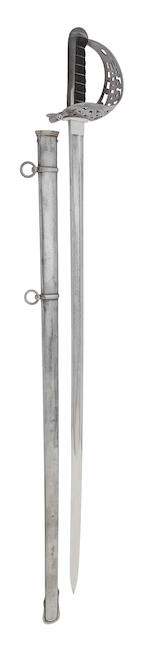 An 1896 Pattern Cavalry Officer's Sword