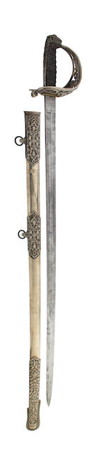 A Victorian Artillery Officer's Presentation Sword