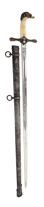 An 1892 MKII Pattern Houshold Cavalry Trooper's Sword