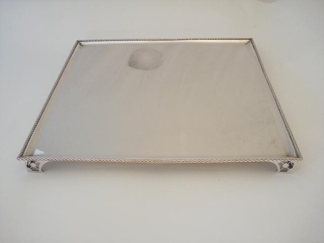 A 19th century Dutch tray circa 1855