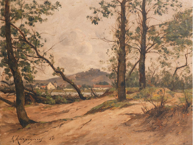 Henri Joseph Harpignies (French, 1819-1916) Paysage