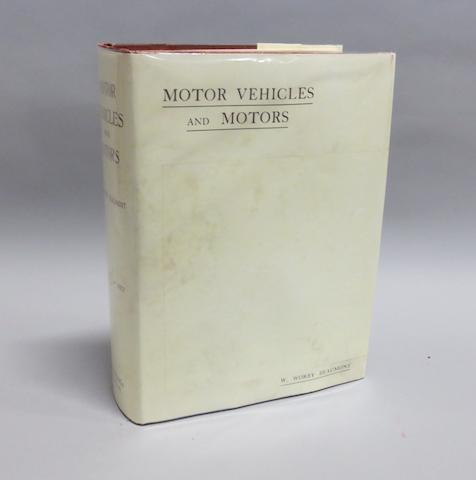 W. Worby Beaumont: Motor Vehicles and Motors; 1900,