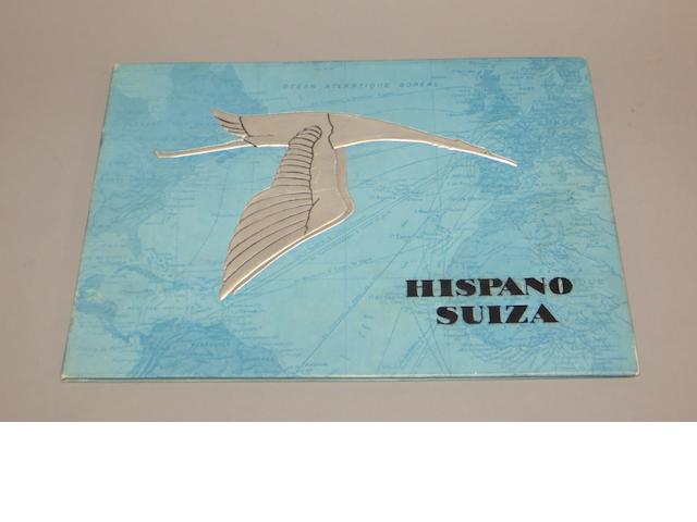 Hispano-Suiza 32CV and 46CV sales catalogue, 1932,