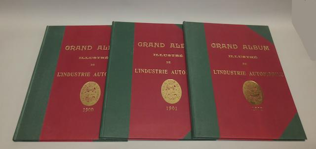Automobile-Club de France: Grand Album Illustré de l'Industrie Automobile; années 1900, 1901 and 1902,