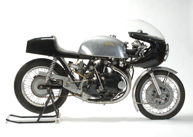 1960? Egli Vincent Black Shadow racing motorcycle Frame no. EV7 Engine no. F10AB/1B/6903