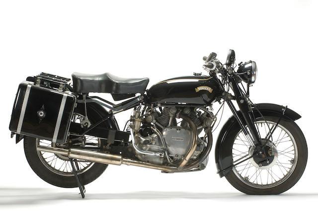 1952 Vincent Series 'C' Rapide Frame no. RC01337/C Engine no. F10AB/1/18437