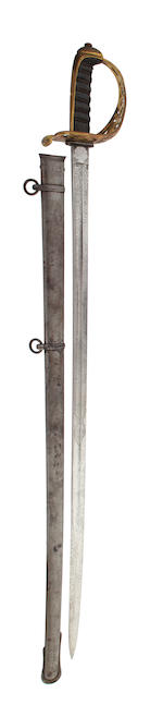 A Regimental 1857 Pattern Engineers Officer's Sword of the 2nd Gloucestershire Volunteer Engineers