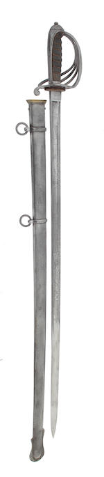 A Presentation 1821 Pattern Cavalry Sword of the Sherwood Rangers Yeomanry Cavalry