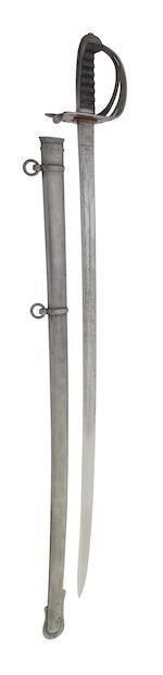 A Regimental Rifle Officer's Sword of the Lincolnshire Rifles
