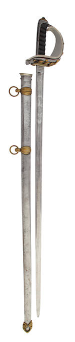 An 1874 Pattern Royal Horseguards Officer's State Sword