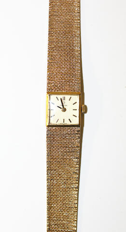 Omega gent's gold wristwatch, diamond cocktail watch, 9ct gold lady's Omega wristwatch, 1940s DOGMA wristwatch