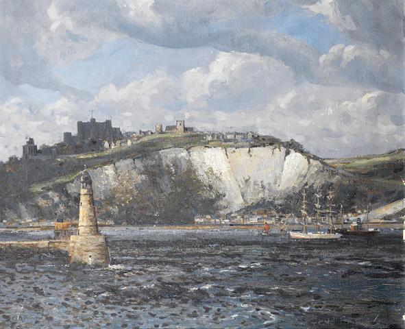 Campbell Mellon (British, 1876-1955) Dover 51.4 x 61.4 cm. (20 1/4 x 24 1/8 in.)