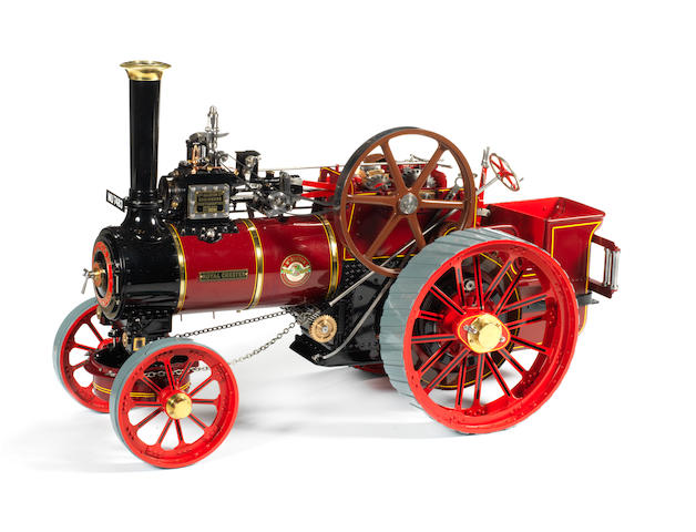 A well engineered live steam 1 1/2in. scale model of a William Allchin No.3251 Traction Engine 'Royal Chester. Built by Mr Thomas Lord.