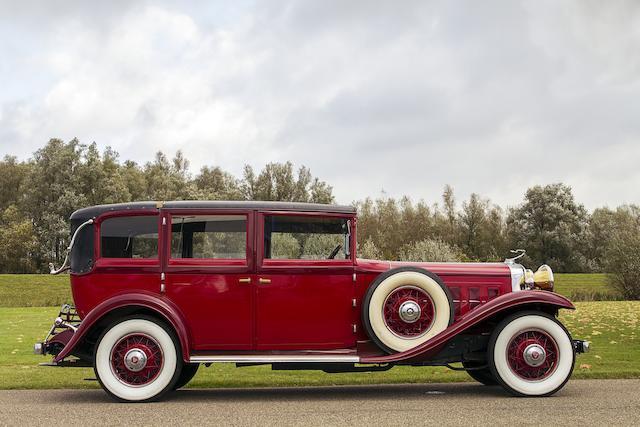 1930 Cadillac V16 Saloon by Vanden Plas