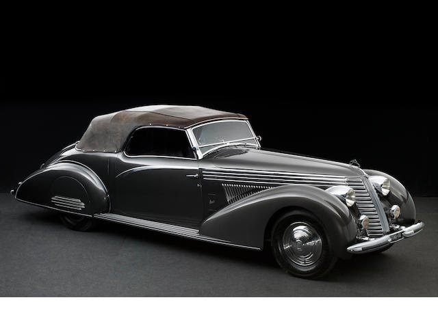 1938 Lancia Astura 4th Series Cabriolet Coachwork by Boneschi