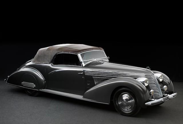 1938 Lancia Astura 4e Série Cabriolet  Chassis no. 41-3125 Engine no. 41-240