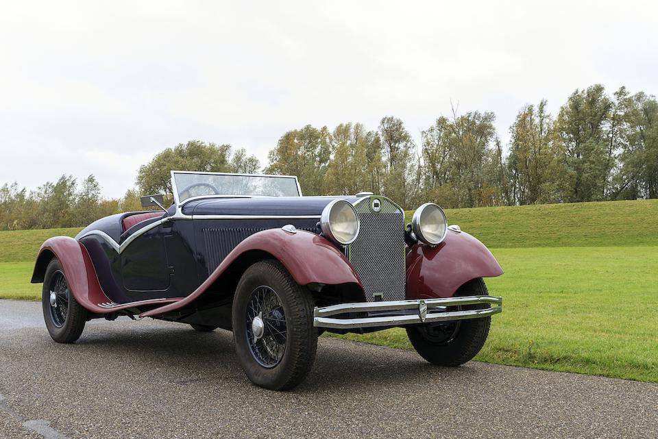 vers 1933 Lancia Dilambda Roadster  Chassis no. à préciser Engine no. 1485