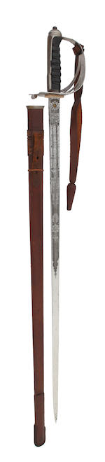 A Regimental 1854 Pattern Officer's Sword of the Scots Guards