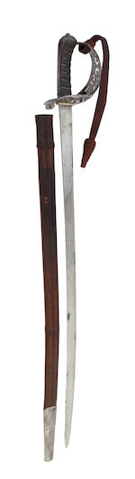 A Presentation Cavalry Officer's Sword