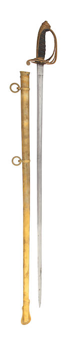 An 1845 Pattern Infantry Officer's Levee Sword