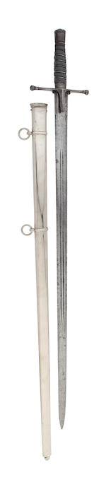 A Regimental Scottish Officer's Cross Hilted Broadsword of the 71st (Highland Light Infantry) Regiment
