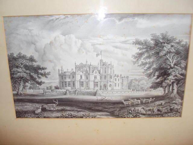 A print of Allerton Park