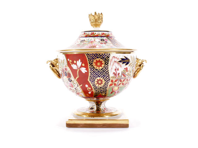 A Barr, Flight and Barr sauce tureen and cover, circa 1810