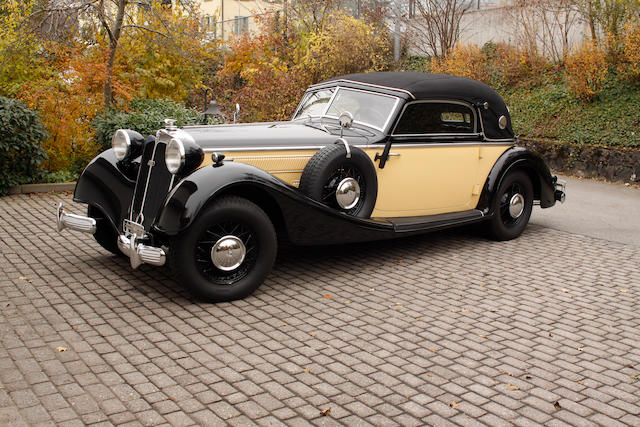 1939 Horch 853 A convertible,