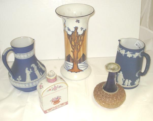 A collection of British ceramics Circa 1900 and later