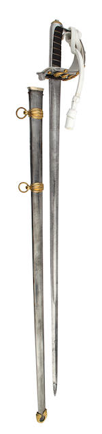 An 1874 Pattern 2nd Lifeguards Officer's State Sword of Exceptional Size