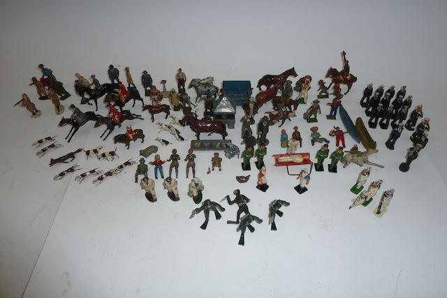 Britains Hunting Series and others 110 approx