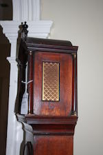 A small George III mahogany longcase clock Charles Russell, London