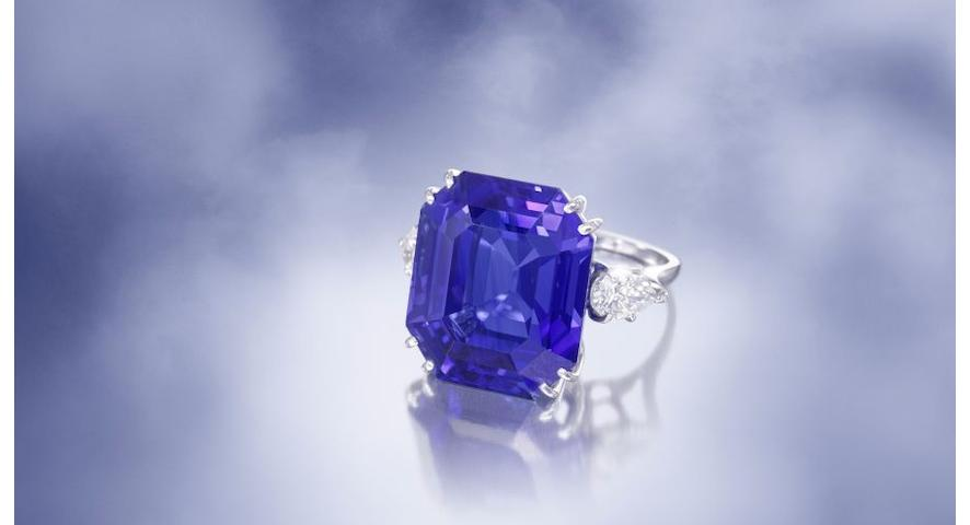 An exceptional sapphire and diamond ring, by Van Cleef & Arpels