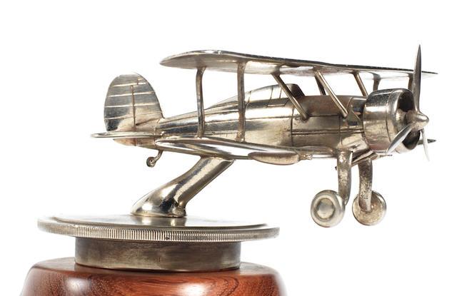 Gladiator  biplane mascot