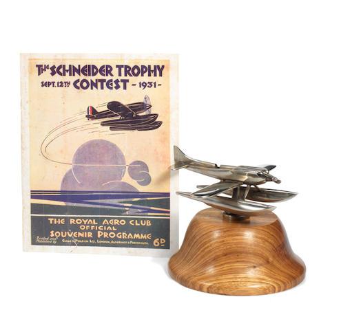 Schneider Trophy Seaplane + reprint programme