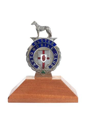 Ulster enamel badge