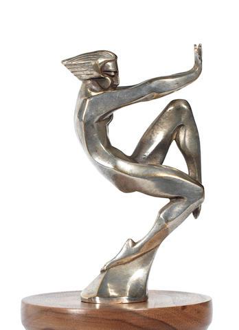 Mascotte « En Avant » par F. Bazin, origine française, années 1920,