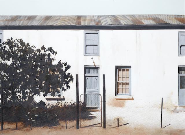 Adriaan van Zyl (South African, 1957-2006) 'Runaway's Hill'