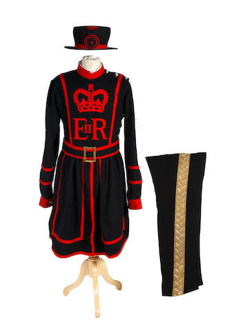 A Yeoman Warder's Part Uniform EIIR Period