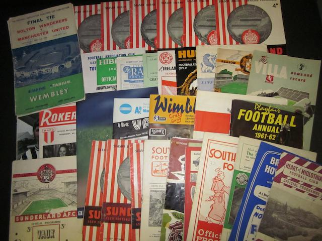 A collection of mainly 1950's programmes