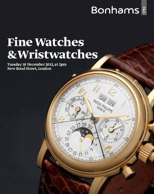 Fine Watches and Wristwatches