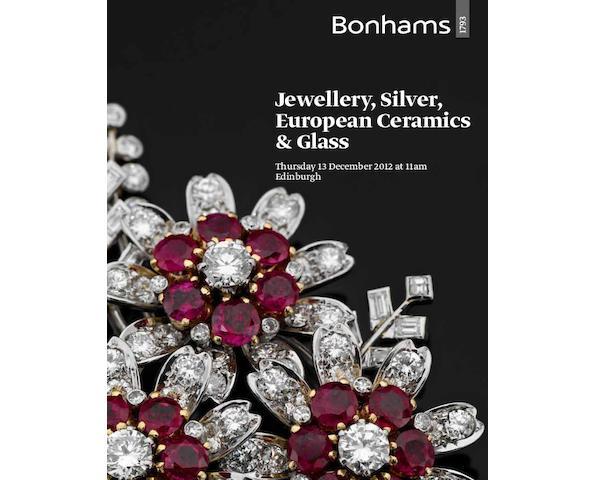Jewellery, Silver, European Ceramics & Glass