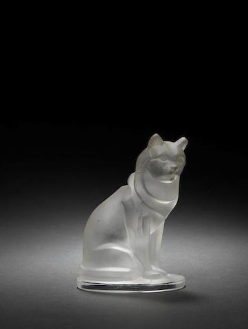 Glass cat mascot, Red Ashay,